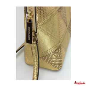 Bandolera  ADELE, de Michael Kors, color dorado