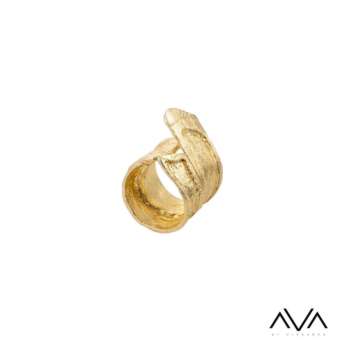 "Anillo ""ANEMOS"" AVA by Mibranda, color oro."