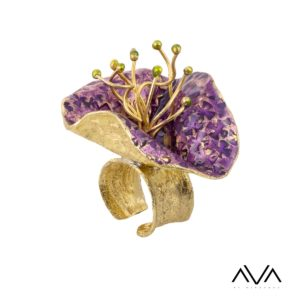 """anillo """"LILA"""" AVA by Mibranda"""