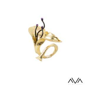 """Anillo """"LUDI"""" AVA by Mibranda"""