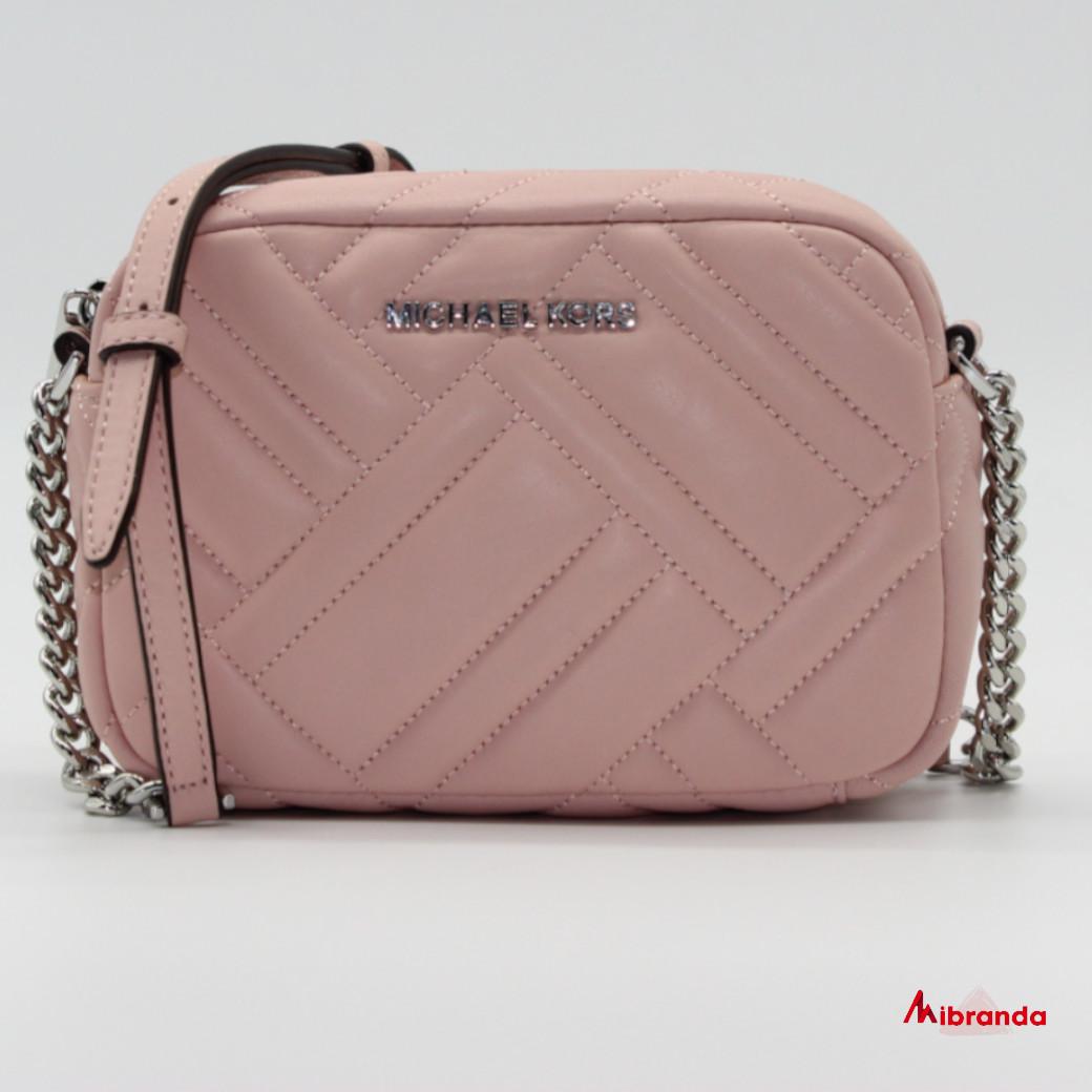 Bandolera  VIVIANNE, de Michael Kors, color rosa