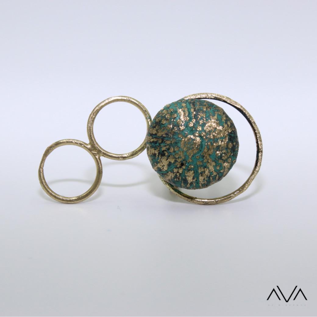 """Anillo """"AXTE"""" AVA by Mibranda"""