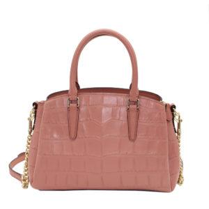 Bolso Tote, de Coach, color rosa vintage.