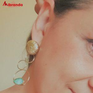 "Pendientes ""LIDI"" AVA by Mibranda"