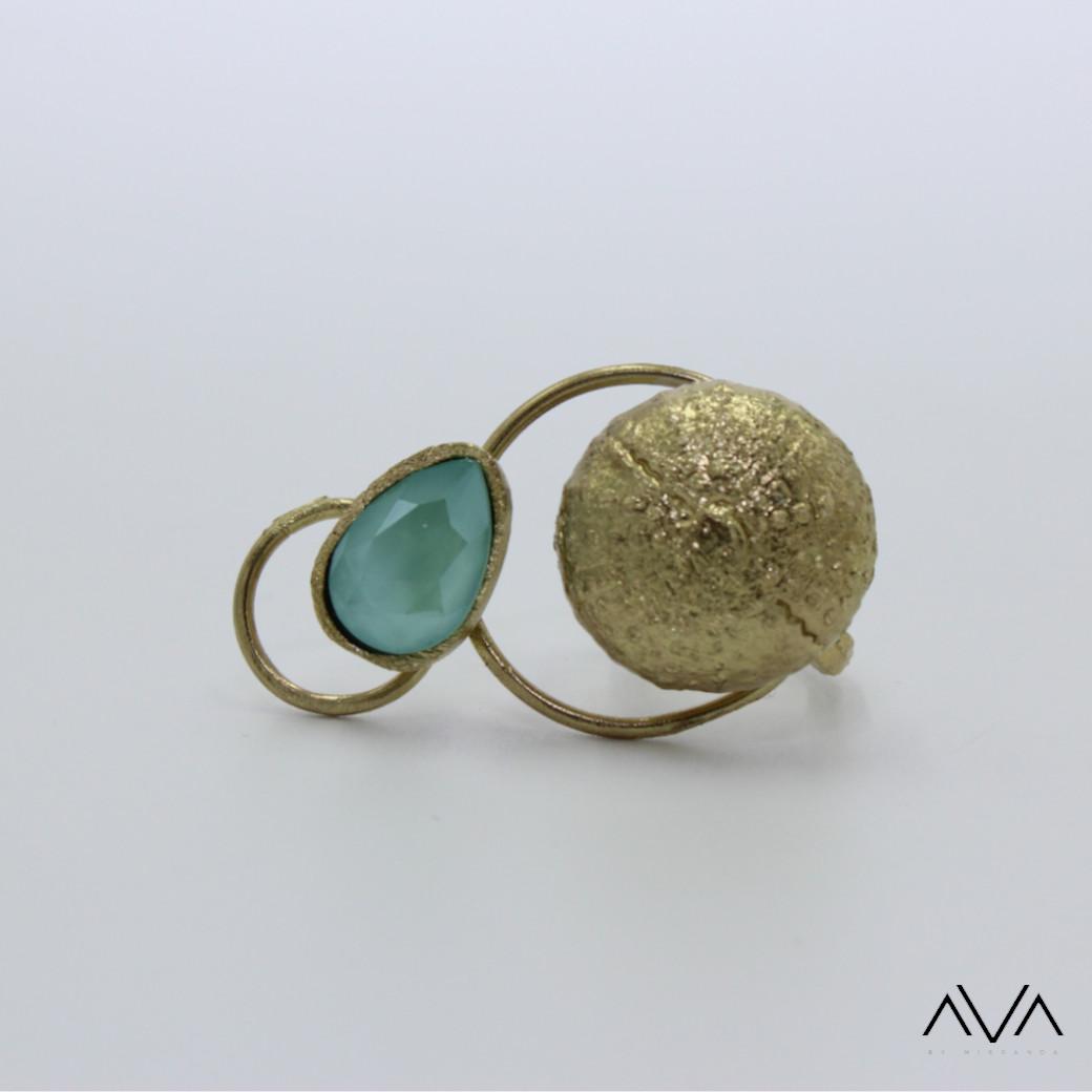 """Anillo """"LIDI"""" AVA by Mibranda"""