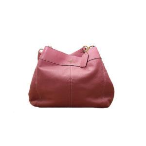 Bolso de hombro Coach, rosado