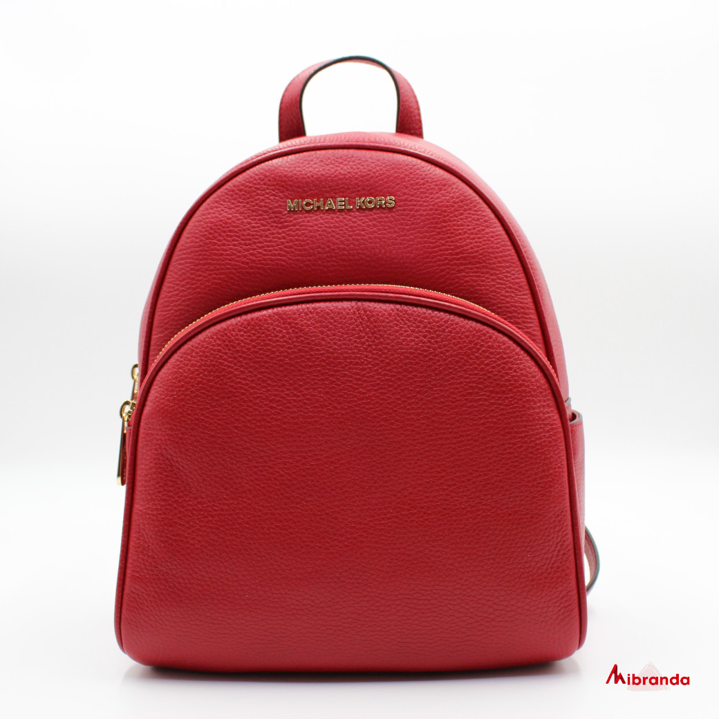 Mochila ABBEY, color rojo, de Michael Kors