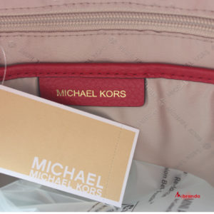 Mochila ABBEY, color rojo, de Michael Kors