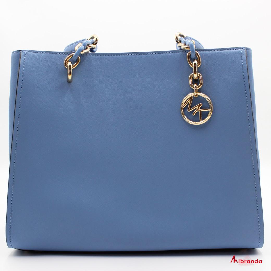 Bolso Tote SOFIA, de Michael Kors, color azul