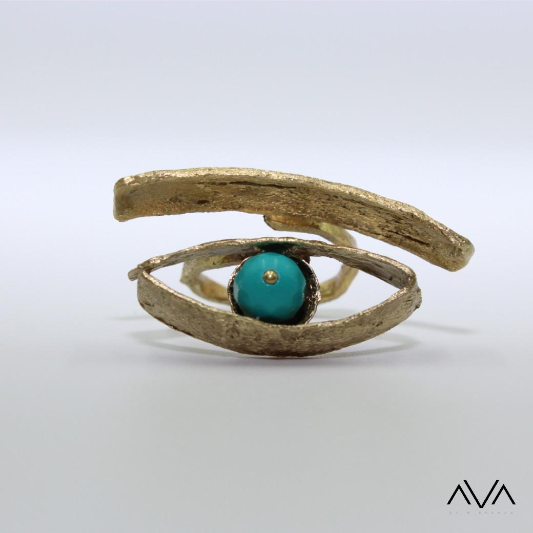 """Anillo """"KOTO"""" AVA by Mibranda"""