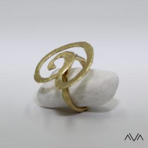 """Anillo """"MENI"""" AVA by Mibranda"""