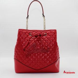 Bolso bombonera ANNIKA, de GUESS, color rojo