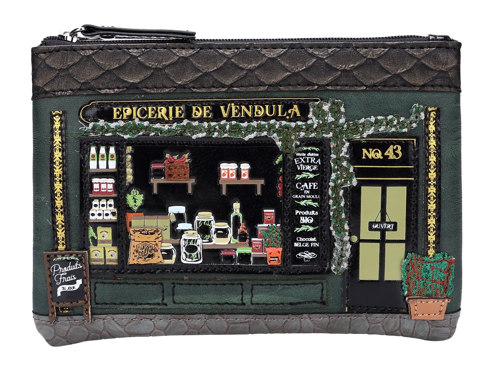 Monedero Epicerie de Vendula, de Vendula London
