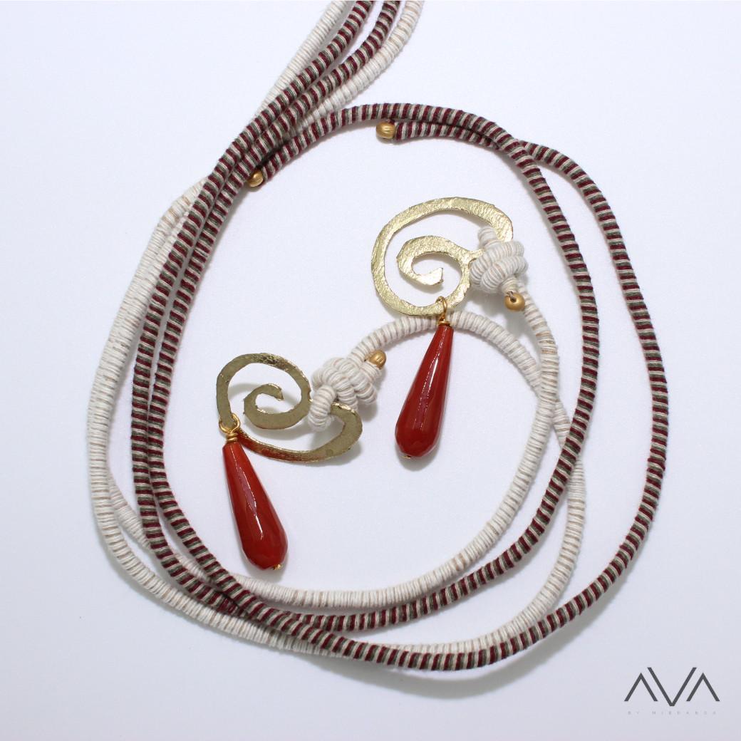 "Colgante ""MENI"" AVA by Mibranda"