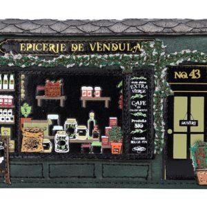 Cartera-monedero con cremallera Epicerie de Vendula, de Vendula London