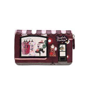 Cartera-monedero con cremallera Vintage, de Vendula London