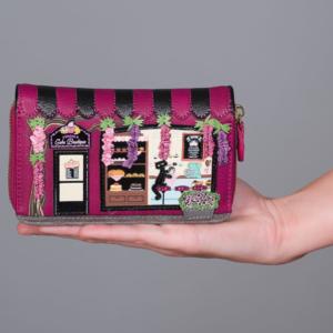Cartera-monedero con cremallera Cake Boutique, de Vendula London
