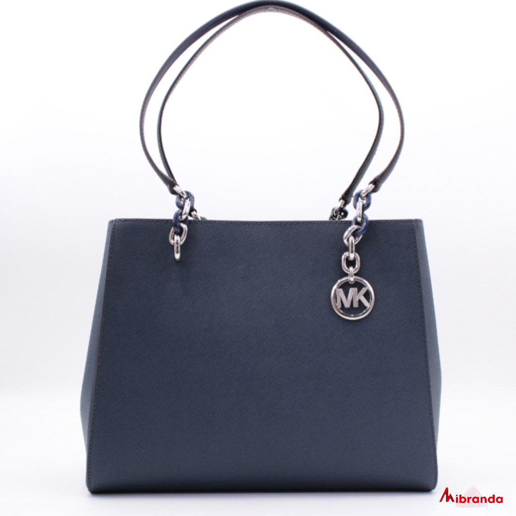 Bolso Tote SOFIA, de Michael Kors, color navy