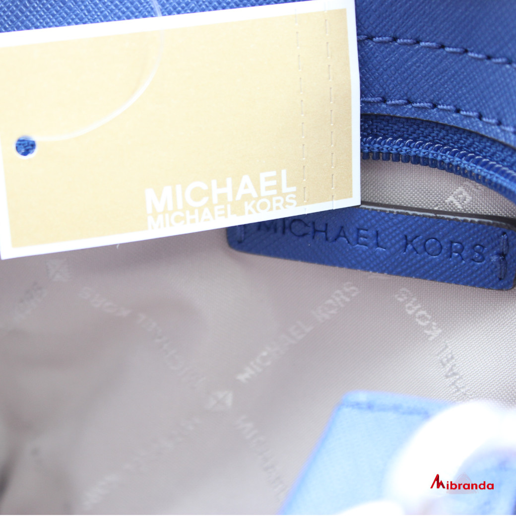Bolso mini Selma, de Michael Kors, azul