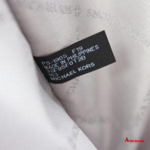 Bolso Tote FULTON SPORT, de Michael Kors, blanco/gris