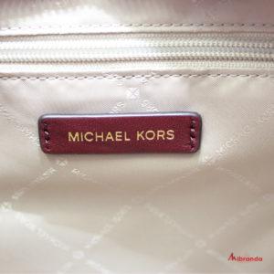 Bolso KATHY, de Michael Kors, merlot, tamaño grande