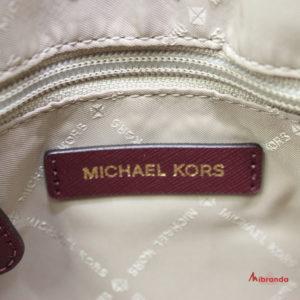 Bolso Satchel CIARA, mediano, de Michael Kors, oxblood
