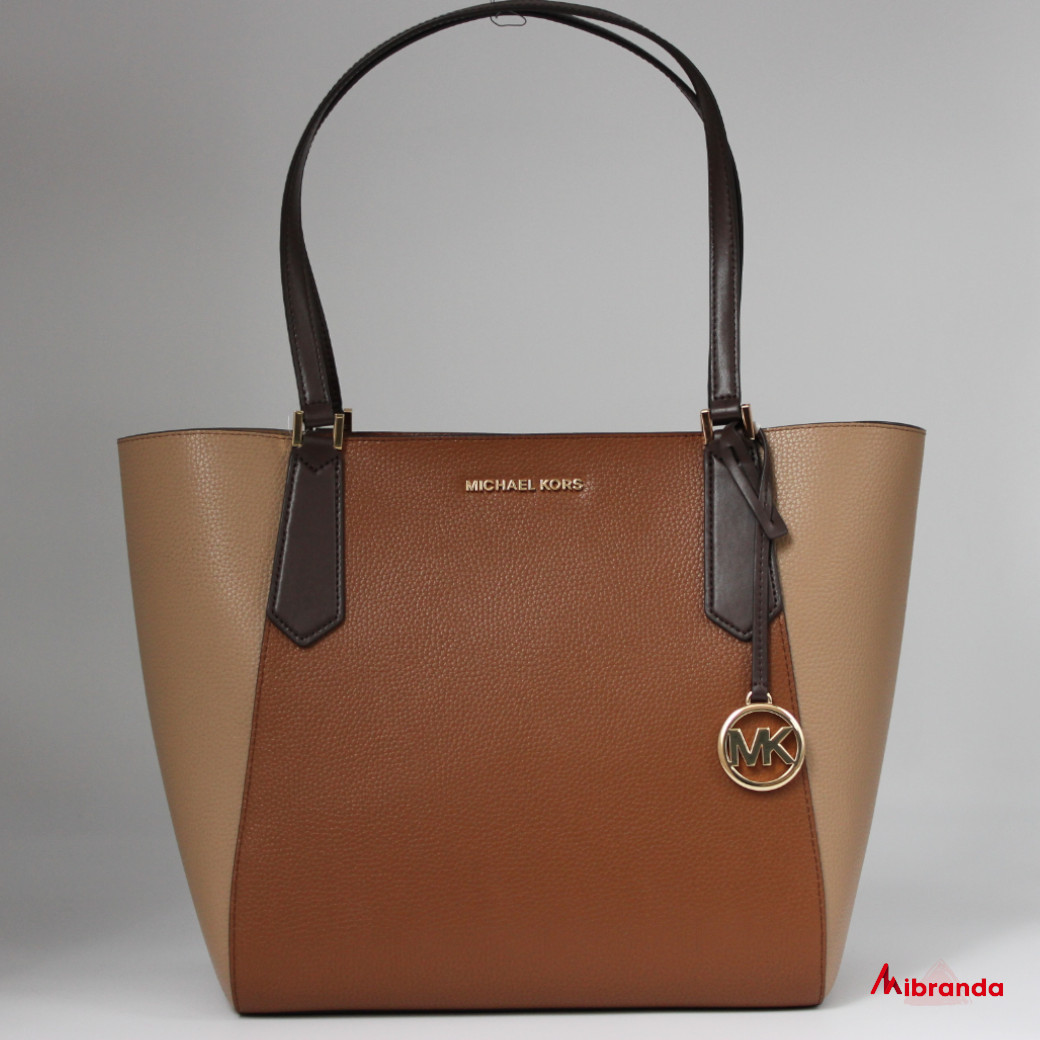 Bolso Tote KIMBERLY, de Michael Kors, marrón