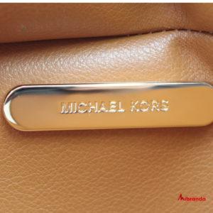 Bolso Tote KIMBERLY, de Michael Kors, vainilla/marrón