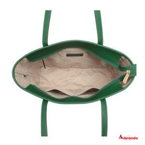 Bolso Tote Jet Set Travel, de Michael Kors, color verde.