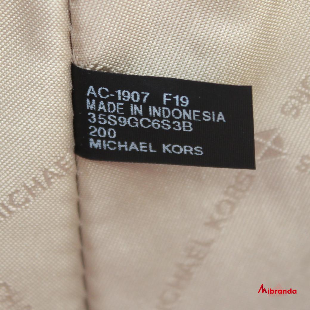 Bolso Satchel CIARA, de Michael Kors, color marrón