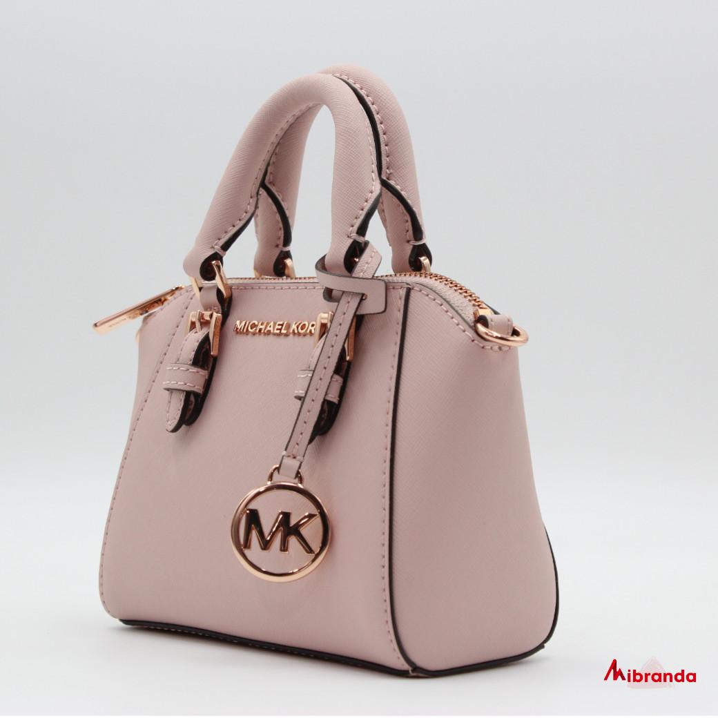 Bolso  mini Ciara, de Michael Kors, rosa
