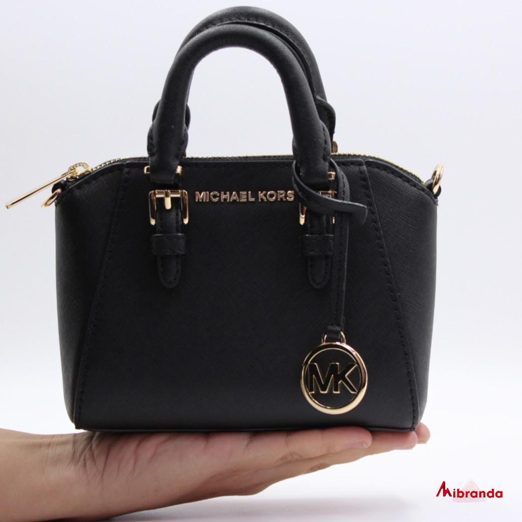 Bolso mini Ciara, de Michael Kors, negro