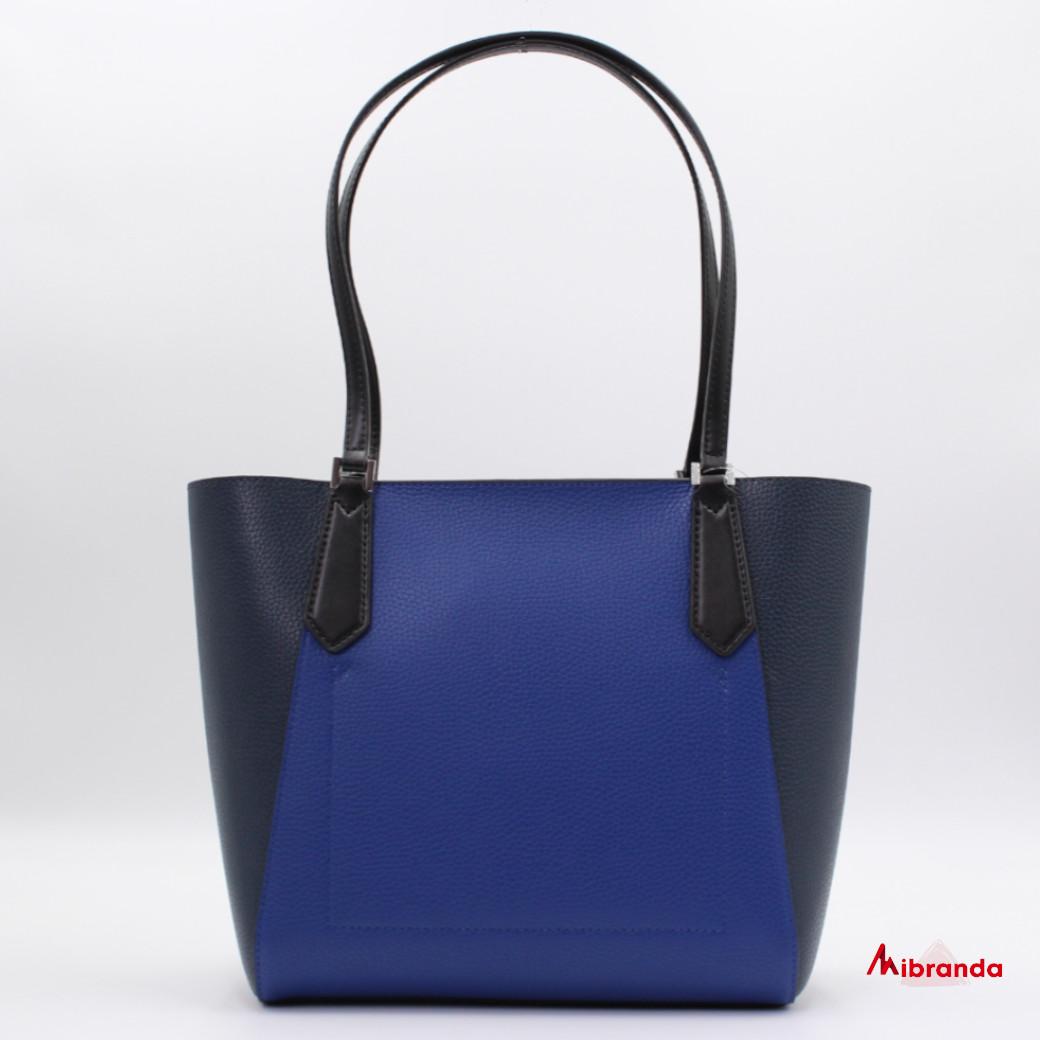 Bolso Tote Kimberly, de Michael Kors, azul cobalto