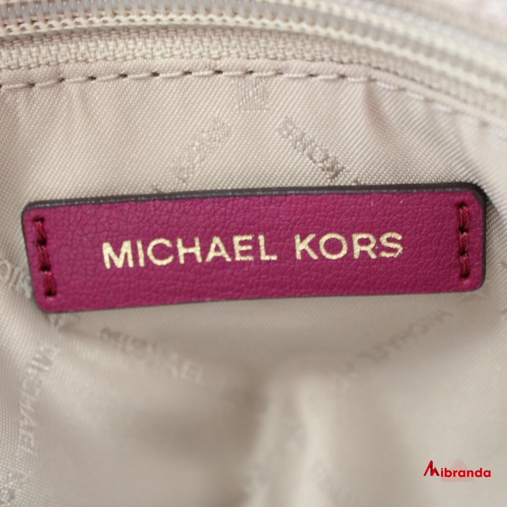 "Bolso Satchel ""EMMY"", de Michael Kors, color magenta"