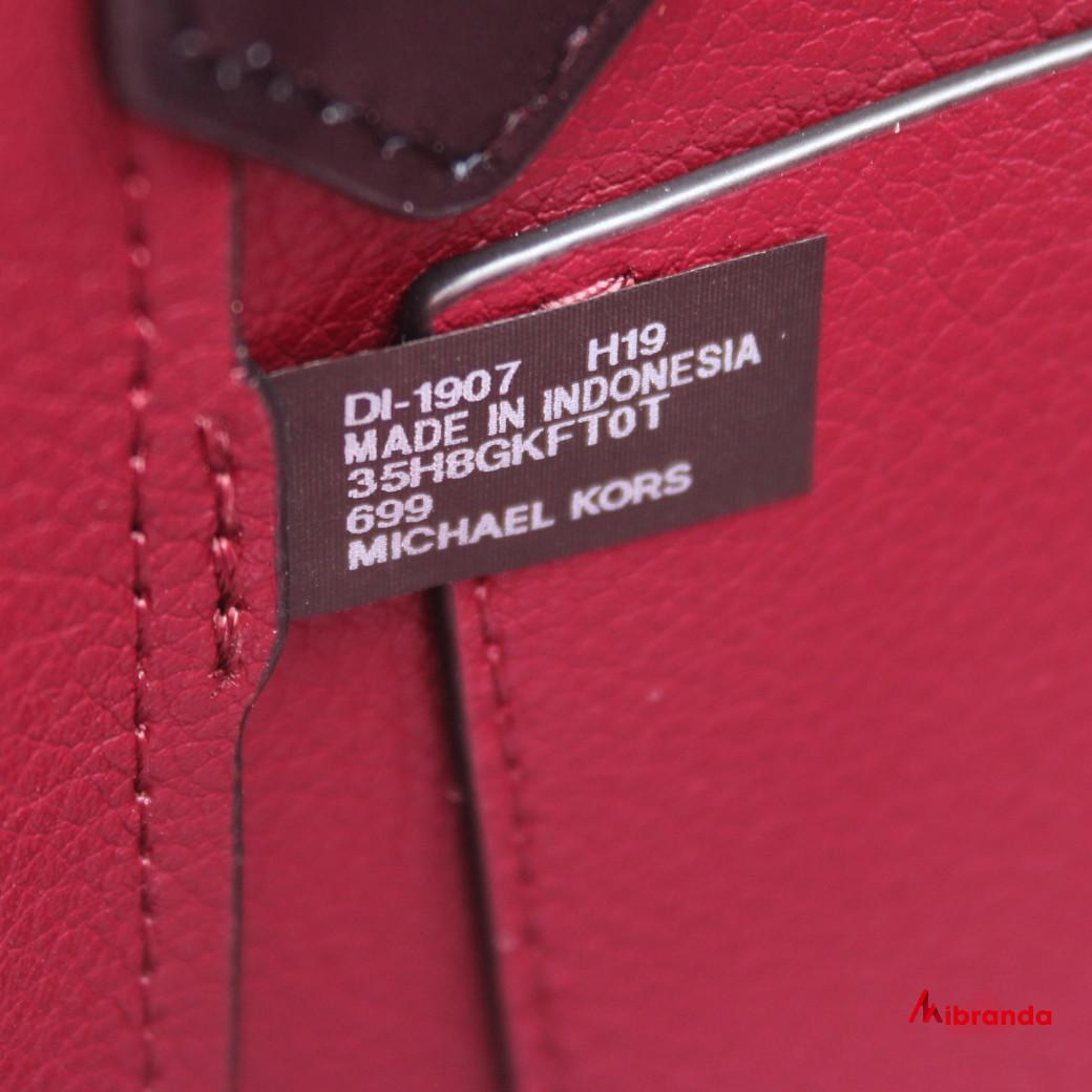 Bolso Tote Kimberly, de Michael Kors, scarlet