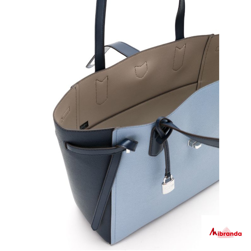 Bolso Maxi Tote, de Michael Kors, tonos azules