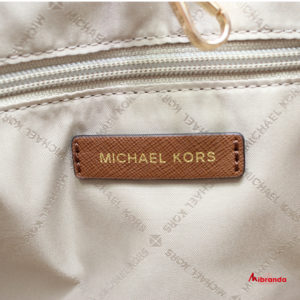 Bolso Tote CARRYALL, de Michael Kors, marrón estampado