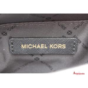 Bolso de hombro Kinsley, de Michael Kors, black/gold