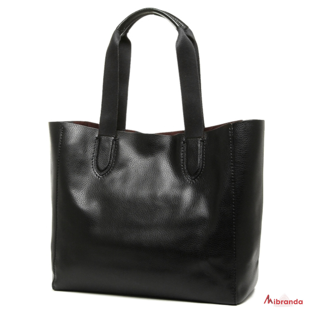 Bolso Maxi Tote DERBY, de Coach, color negro