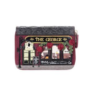 Cartera pequeña con cremallera The George, de Vendula London