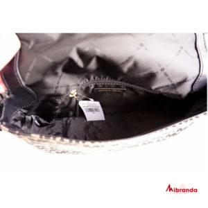 Bolso de hombro con solapa Bedford, de Michael Kors, negro