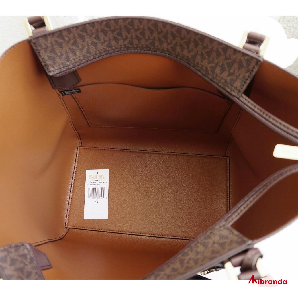Bolso Tote Kimberly, de Michael Kors, Luggage multi.