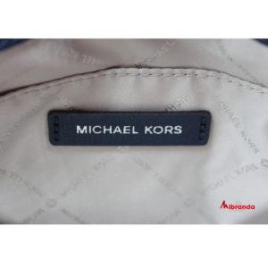Bolso Satchel KINSLEY, de Michael Kors, color navy