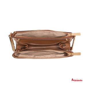 Bolso bandolera Kenly,de Michael Kors, color luggage
