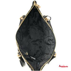 Bolso Tote Bedford, con estampado, color negro