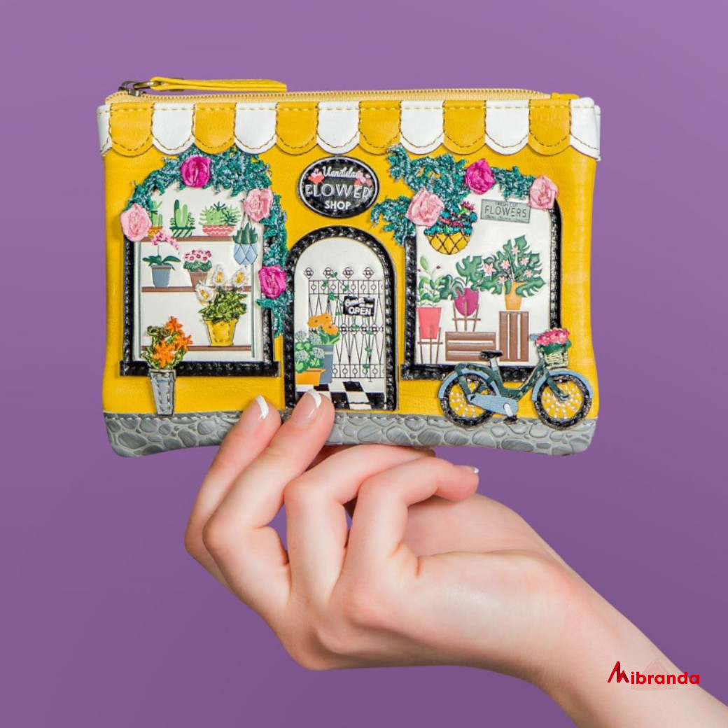 Monedero Flower Shop , de Vendula London