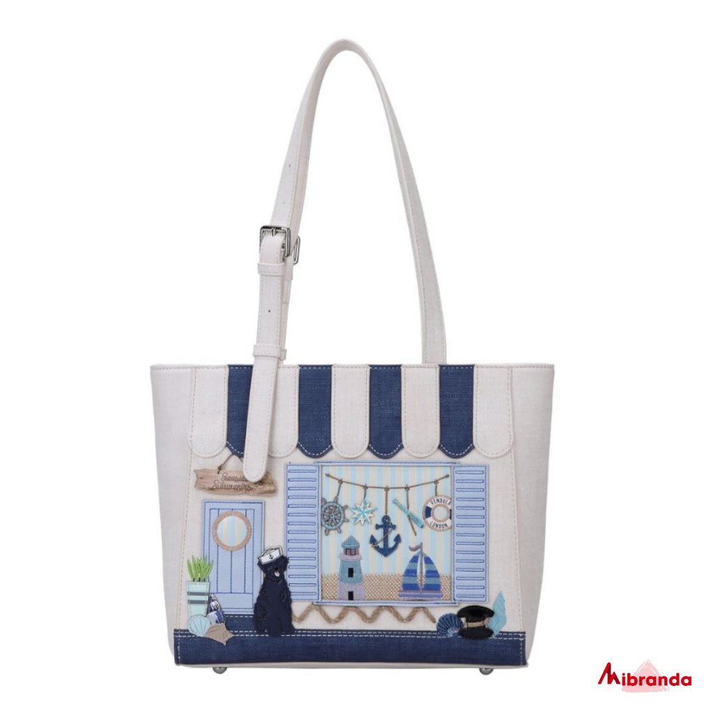 Bolso Tote Seaside Souvenirs, de Vendula London