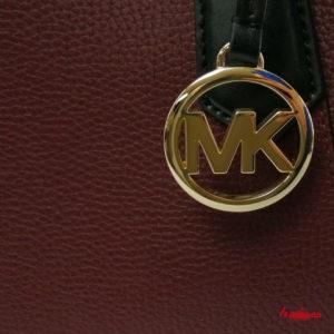 Bolso Satchel KIMBERLY, de Michael Kors, merlot multi