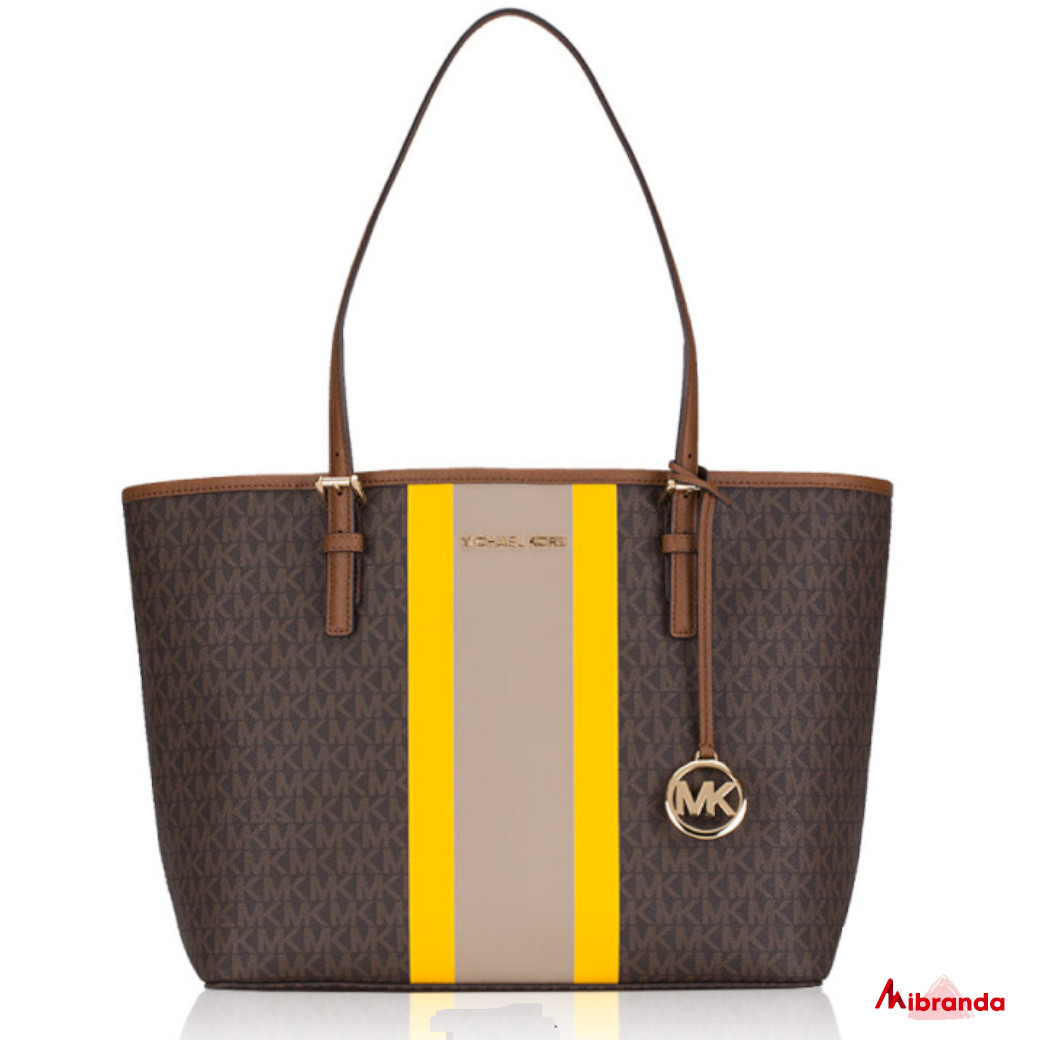 Bolso Tote CARRYALL, de Michael Kors, brown multi