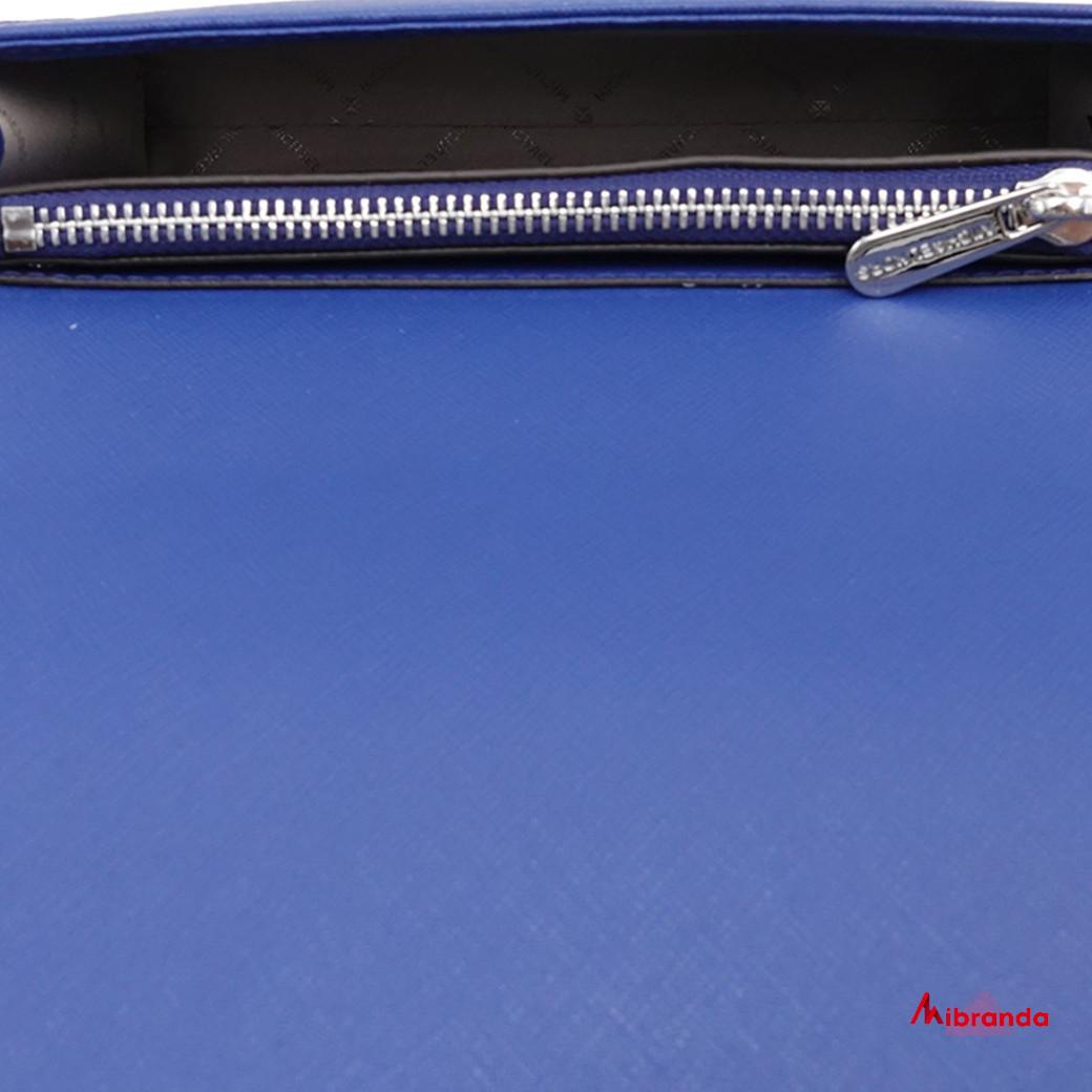 Bolso Clutch JET SET TRAVEL 3 en 1, de Michael Kors, azul